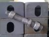 bridge clamp connected to corner casting