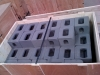 shipping container corner castings boxed